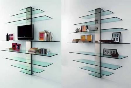 Szklane półki od Tonelli